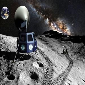 نصب تلسکوپ ناسا روی ماه
